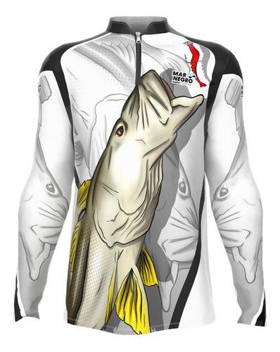 Camisa Pesca Dry Fit Com Proteção Solar Blusa Camiseta