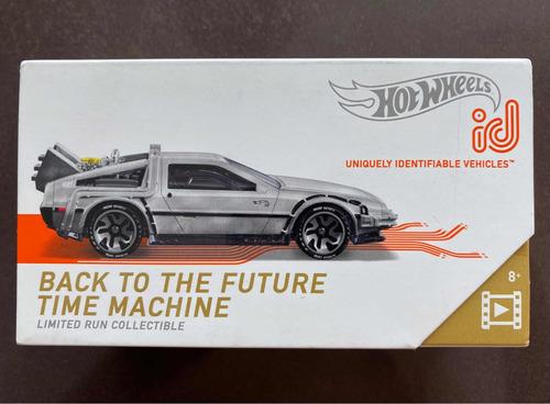 Hot Wheels Id Delorean Time Machine