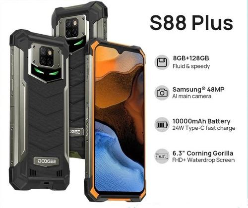 Smartphone Doogee S88 Plus 8/128gb 10,000mah Pronta Entrega