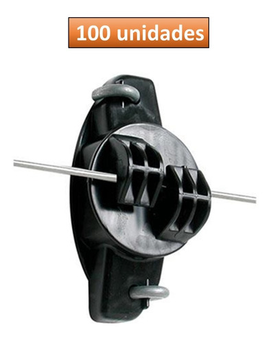 Aislador Tipo W Para Cerco Eléctrico X 100 Unidades Alfa