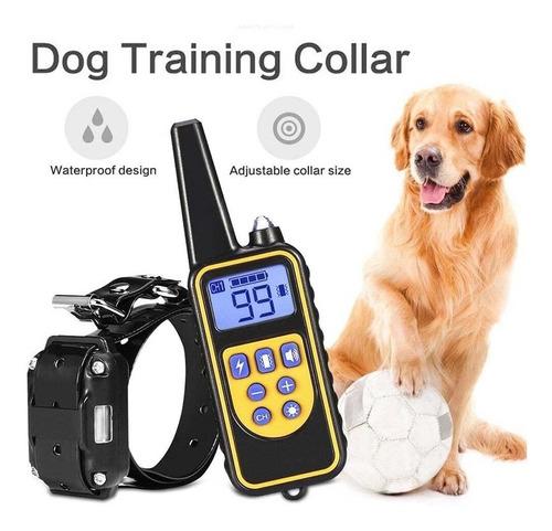 Coleira De Treinamento De Cão De Choque Eletrônico Impermeáv