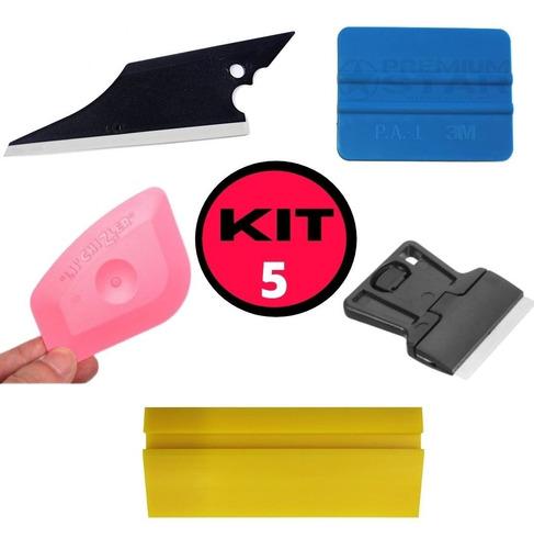 Polarizado Kit Espatulas 5