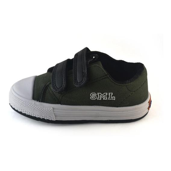 Zapatilla Abrojo Militar-negro Small Shoes