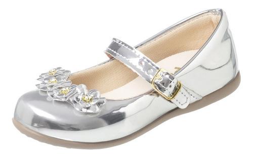 Sapatilha Feminina Infantil Sapato Criança Dama Branca Moda