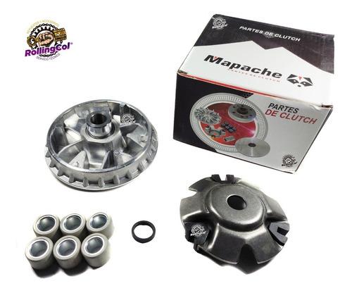 Variador Completo Racing Agility 125-150 /akt Dynamic/gy6