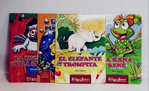 Libro Cuento Animales Alegres Pack X12