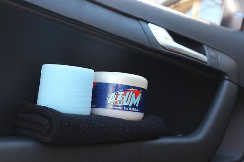 Kit Autolim - Limpia Tapizados + Paño De Microfibra