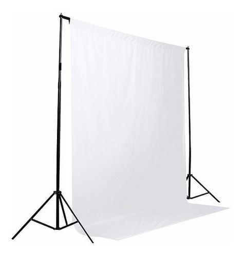 Tecido Fundo Infinito 1, 40x2, 00 Fotografico Branco Ou Preto