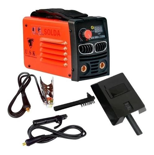 Inversora  Máquina De Solda U.s.k. Mini Mma 230 Bm