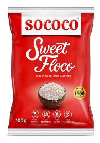 Coco Ralado Sweet Floco - Sococo 100g