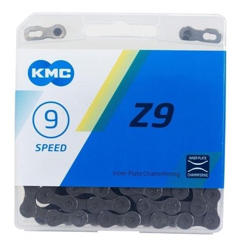 Corrente Kmc Z9 Index 9v 116 Elos 27 Marchas Bike Speed Mtb