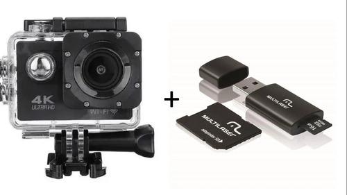 Camera Gocam Action Pro Sport 4k Full Hd Wifi + Cartão 16gb