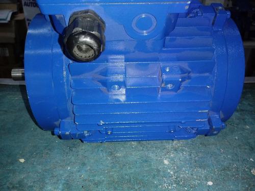Motor Trifasico Cerrado 2 Hp 2800 Rpm Con Brida B14 Y Eje 16