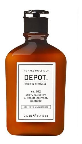 Shampoo Depot No.102 Anticaspa Y Para Cabello Graso