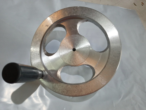 Volante Manipulo 160mm Movimento P Maquina Aluminio Fundido