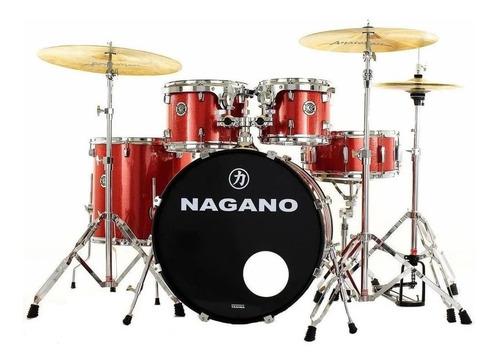 Bateria Acustica Tagima Nagano Garage Fusion Vintage Cores