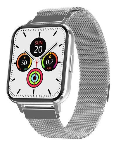 Smartwatch Iwo Dtx Prata Tela 1.78 Hd Original 2 Pulseiras
