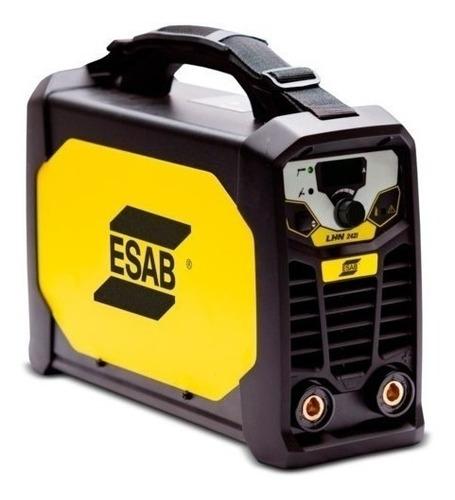 Máquina De Solda Inversora Lhn 242i Monofásica 220v Esab
