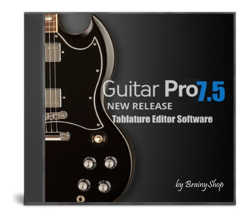Sw: Guitar Pro 7.5 - Editor De Partituras Guitarra - Win