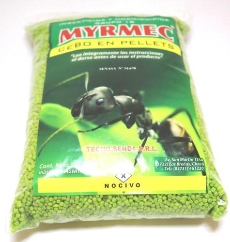 Insecticida Y Hormiguicida Myrmec 4kg Parafinado Pellets