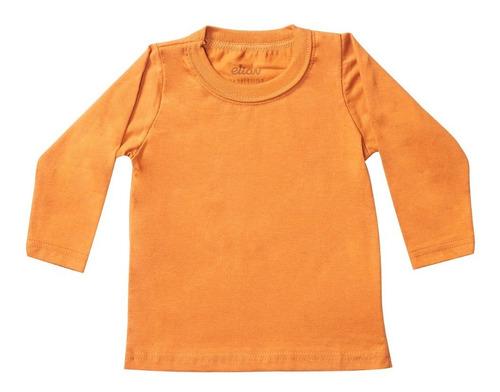 Camiseta De Malha Manga Longa Bebê Menino - Elian