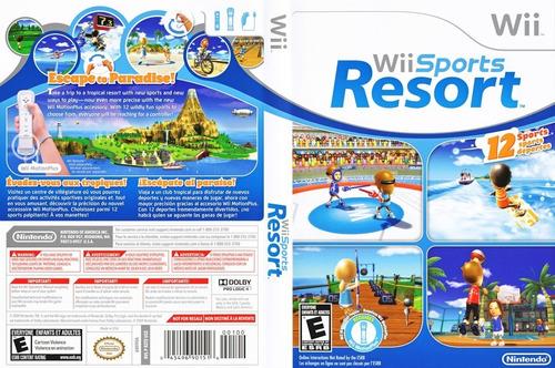 Juego Original Físico Nintendo Wii Sports Resort - Wiisanfer