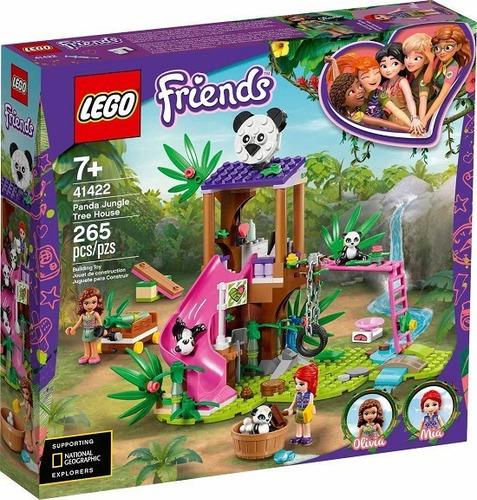 Lego 41422 Friends Casa Do Panda N Arvore Da Selva-265 Peças