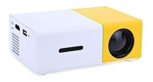 Mini Projetor Led Yg-300 Portátil Full Hd 600 Lumens Usb Hdm