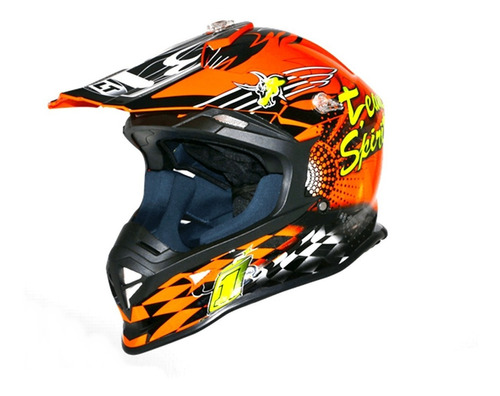 Capacete Moto Helt Mx Cross Vision