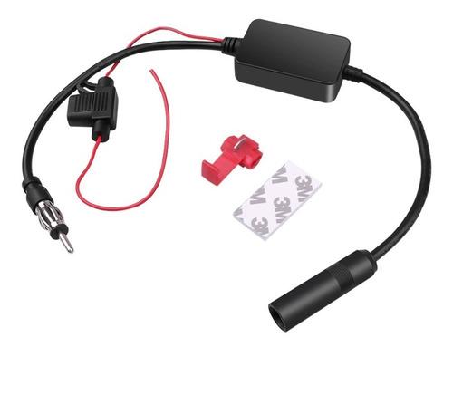 Amplificador De Sinal Fm Antena Automotivo