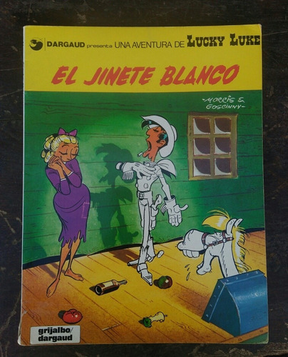 Lucky Luke : El Jinete Blanco . Revista Antigua 1982 N2