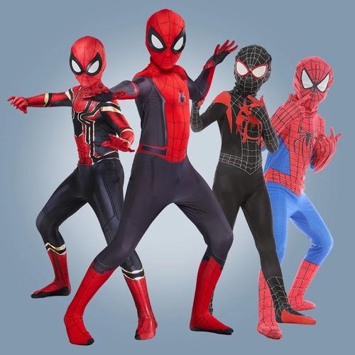 Fantasia Infantil Homem Aranha Longe De Casa Spider Cosplay