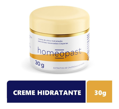 Homeopast Creme Hidratante Pele Aspera Ressecada Rachadura