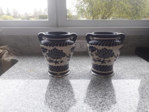 Jarrones En Ceramica Con Dibujos Artesanales