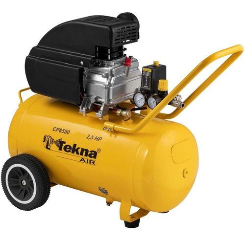 Compressor Ar Portátil 2,5 Hp 8,5 Pés 50 Litros Cp8550 Tekna