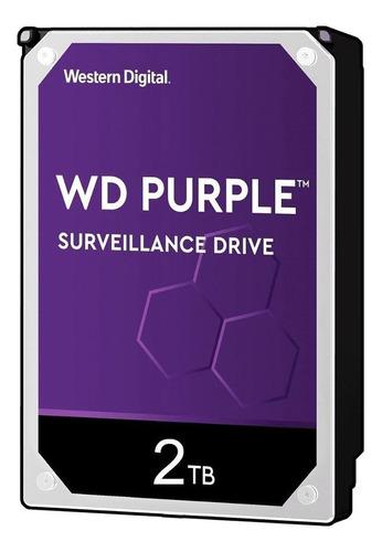 Disco Duro Interno Western Digital Wd Purple Wd20purz 2tb Púrpura