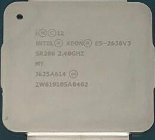 Intel(r) Xeon(r) Cpu E5-2630 V3 @ 2.40ghz + 32gb Ram (2x16g)