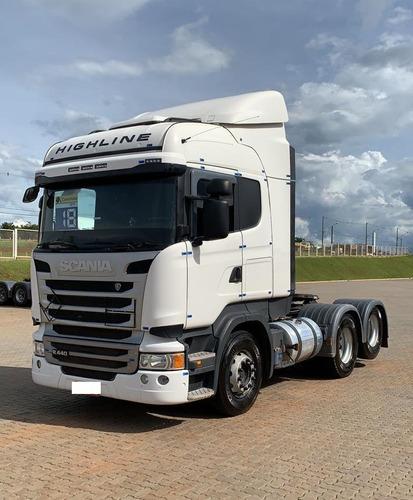 Scania R 440 6x2 Highline