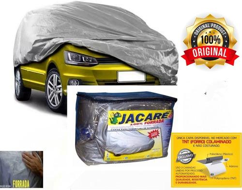 Capa Cobrir Carro Jacaré Total Forrada Impermeavel P M G