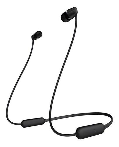 Fone De Ouvido In-ear Sem Fio Sony Wi-c200 Preto