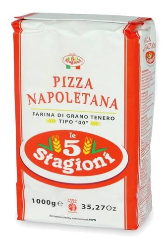 Harina Napoletana 5stagioni(italia) En 10 Paquetes De Kilo