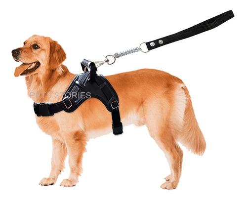 Coleira Peitoral Guia Cães Médios E Grandes Pet Shop