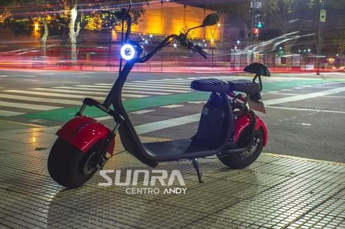 Sunra Spy Racing 1500w Citycoco 20ah /60 Km/h /golf 18 H / A