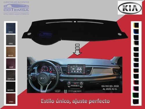 Cubretablero Aut. (colores) Kia Rio Del 2018 Al 2020, K2-g