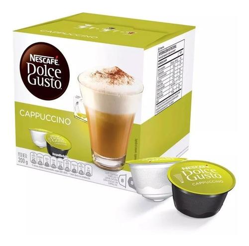 Nescafé Dolce Gusto 16 Cápsulas Sabor Cappuccino En Oferta!!