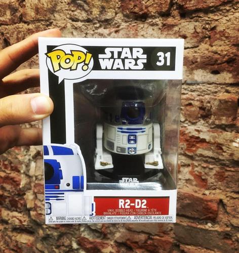 Funko Pop! Star Wars R2-d2 #31 Nuevo En Stock