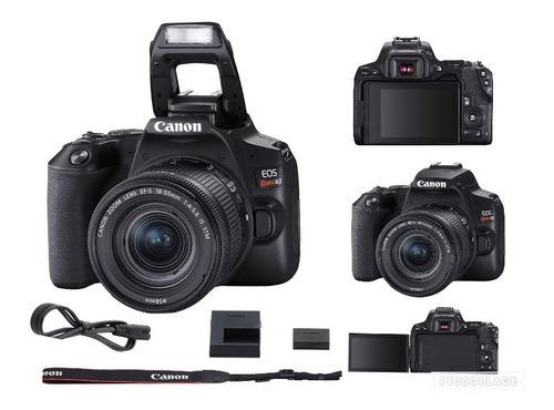 Câmera Canon Eos Rebel Sl3 C/ 18-55mm