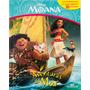 Livro Com 10 Miniaturas Disney Moana Aventuras Do Mar