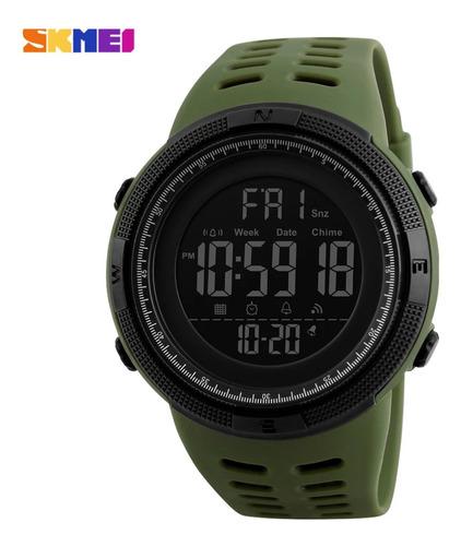 Relógio Digital Esportivo Prova D'água Skmei 1251 Verde