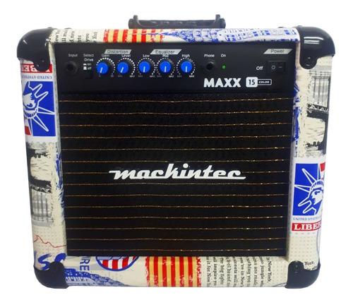 Amplificador Mackintec Maxx 15 Para Guitarra De 15w Cor Usa 110v/220v